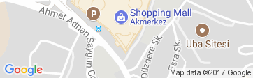 Google Map of Akmerkez Residence
